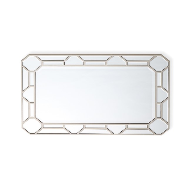 Rosa Rectangular Mirror with Patterns - Vida Living
