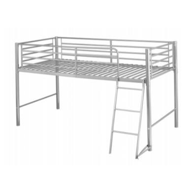 LPD Limited Saturn Mid Sleeper Bed In Silver