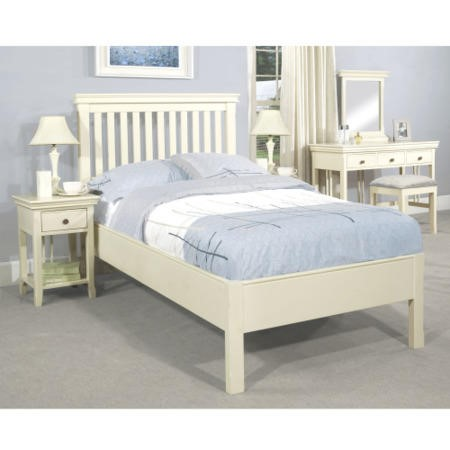 Savannah Double Bed in Ivory/Cream