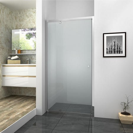 Pivot Shower Door - 760 x 1850mm
