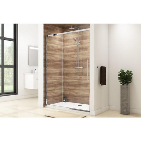 Taylor & Moore Sliding Shower Door - 1000 x 1850mm