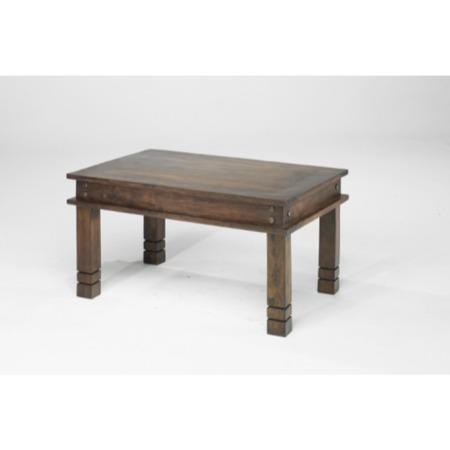 Heritage furniture jali chunky coffee table 45 x 45 for Large chunky coffee table