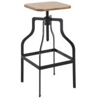 LPD Shoreditch Bar Stool in Black