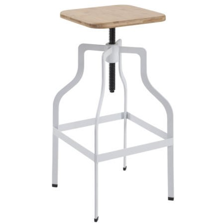LPD Shoreditch Bar Stool in White