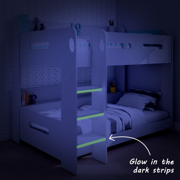 Sky White Bunk Bed