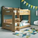 SKY004 Sky Bunk Bed in Oak - Ladder Can Be Fitted Either Side!