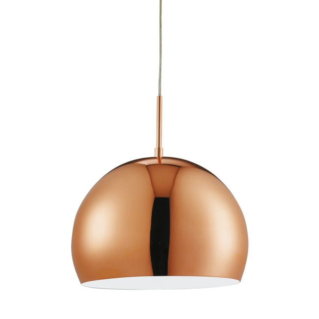 Pendant Ceiling Light in Copper - Searchlight