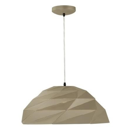 Gold Pendant Light with Geometric Shade - Origami
