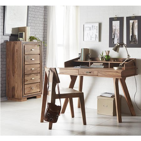 Sheesham Home Office Study Desk with Storage - Jodhpur Range