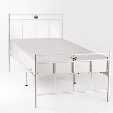 LPD Limited Soccer Single Bed In Silver