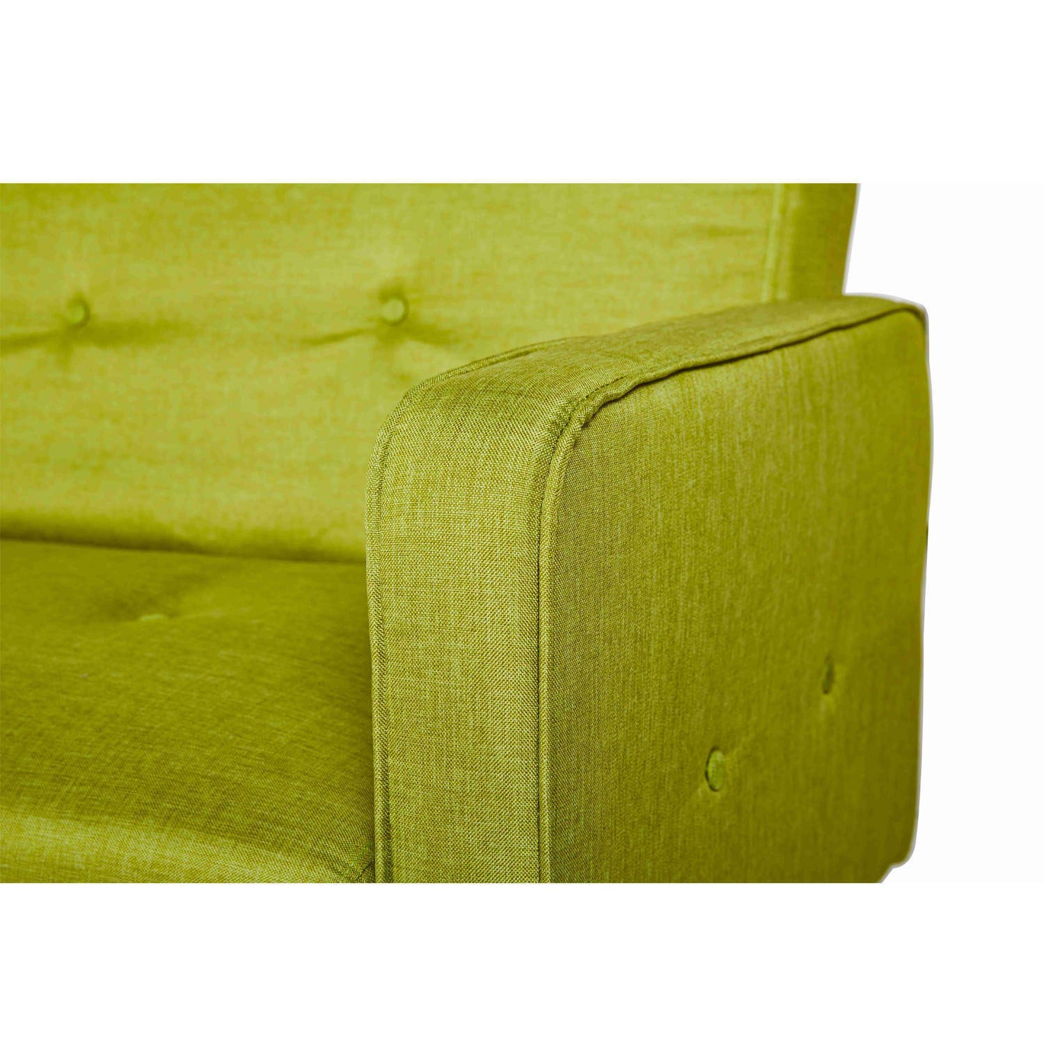 Prime Milu 3 Seater Fabric Sofa Bed In Lime Green Caraccident5 Cool Chair Designs And Ideas Caraccident5Info