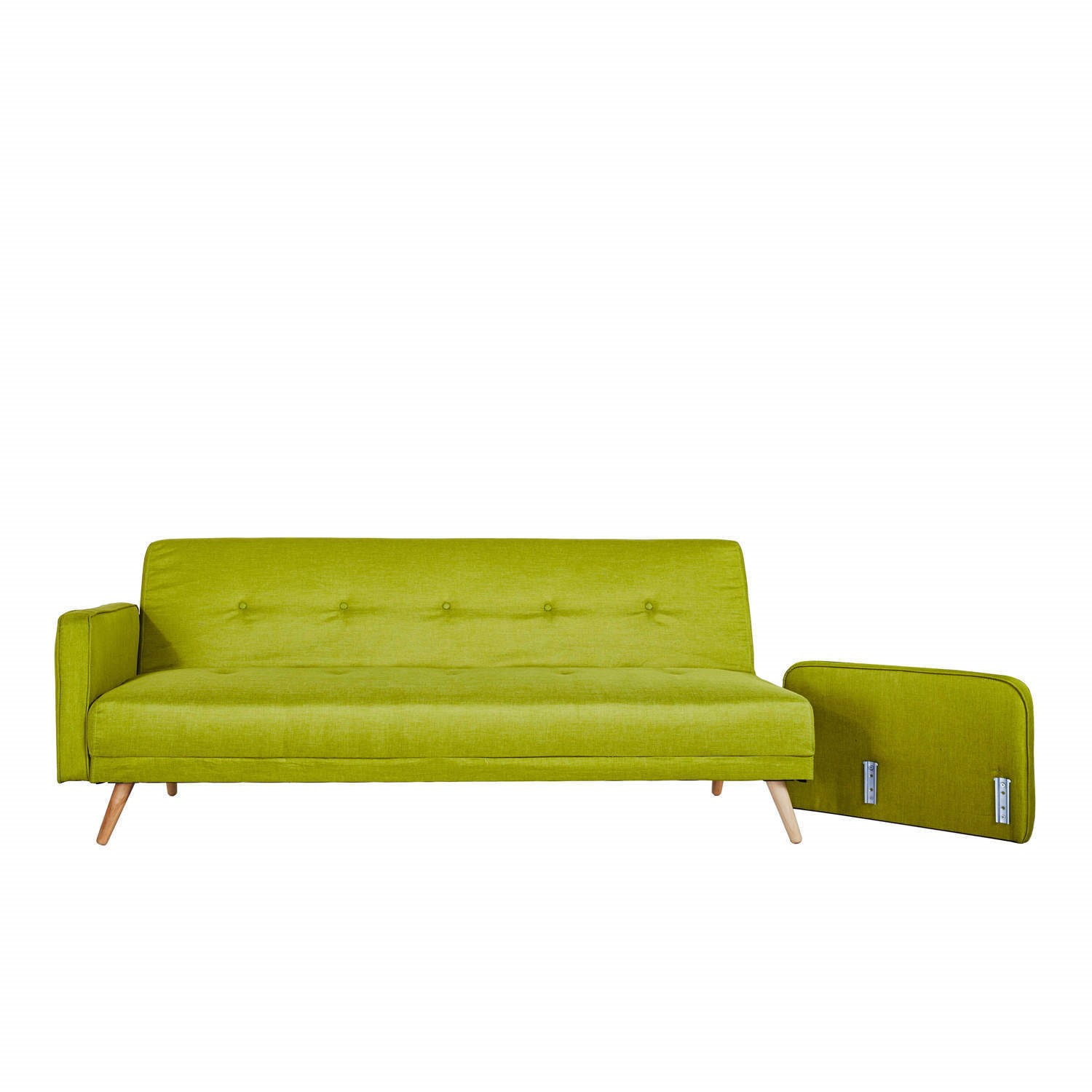 Fantastic Milu 3 Seater Fabric Sofa Bed In Lime Green Caraccident5 Cool Chair Designs And Ideas Caraccident5Info