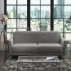 Light Grey Sofa Bed - Double - Archer