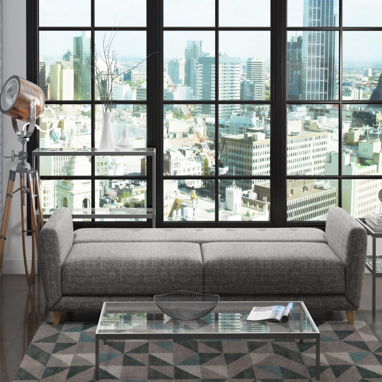 Pleasing Archer Grey 3 Seater Sofa Bed Sleeps 2 Cjindustries Chair Design For Home Cjindustriesco