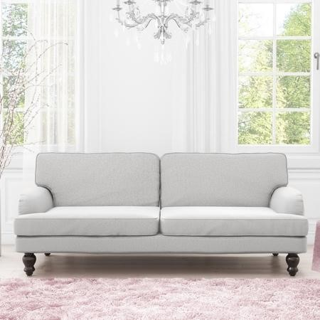 Amelia Light Grey Double Sofa Bed- 3 Seater Sofa