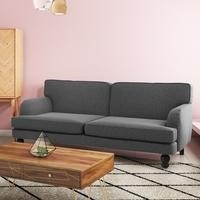 Amelia 3 Seater Sofa Bed in Grey