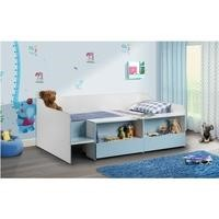 Julian Bowen Stella Low-Sleeper Bed In Blue