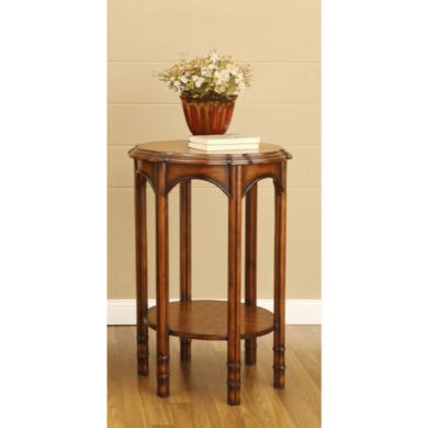 Wilkinson Furniture Stanford Flower Stand in Chinaberry
