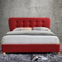 Birlea Stockholm Upholstered Red Double Bed