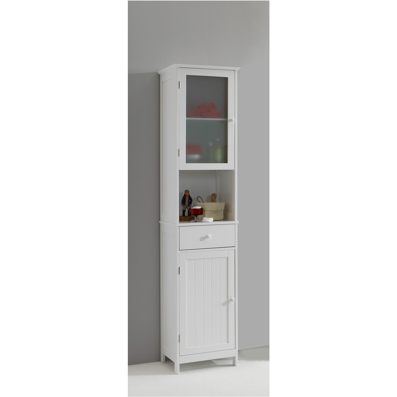 Tall Bathroom Storage Cabinets Uk stockholm white tall bathroom storage cabinet | furniture123