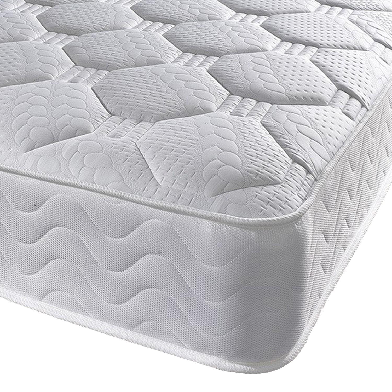 Luxury 1000 pocket sprung combination small single 2'6 mattress - medium/firm firmness