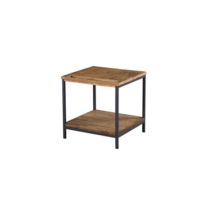 Jual furnishings metal and rustic oak lamp table furniture123 jual furnishings metal and rustic oak lamp table aloadofball Image collections