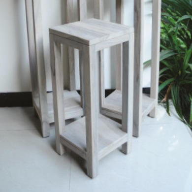 Oceans Apart 60cm Plant Stand In Grey