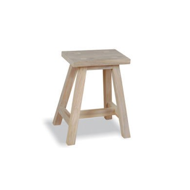 Teak Occasionals Small Dingklik Stool/Side Table