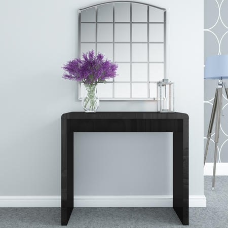 Black Tiffany High Gloss Dressing Table