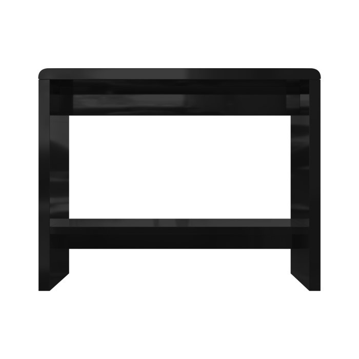 Tiffany black high gloss led console table furniture123 for Furniture 123 code