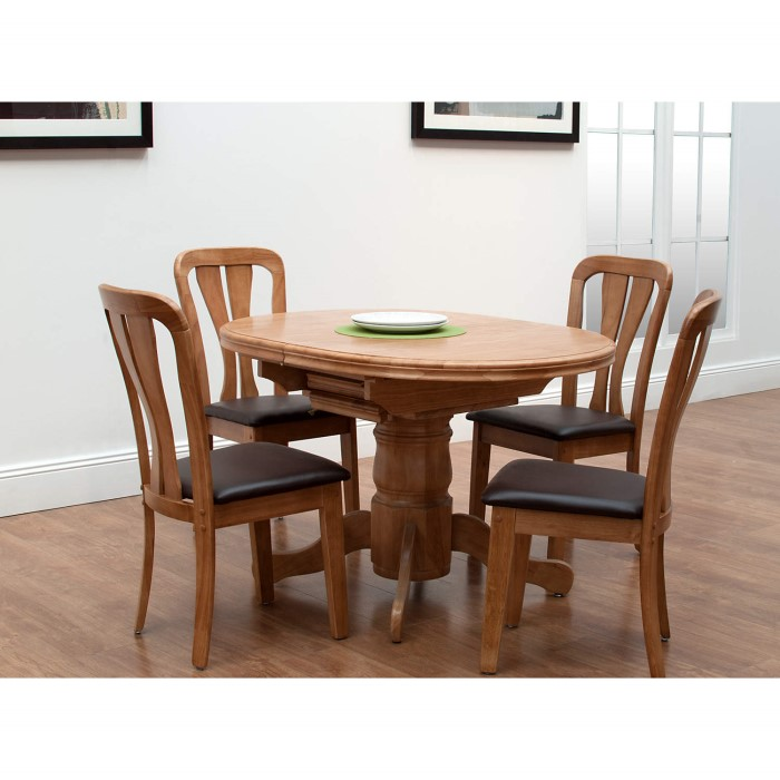 Wilkinson Furniture Toledo Extending Dining Table In Maple