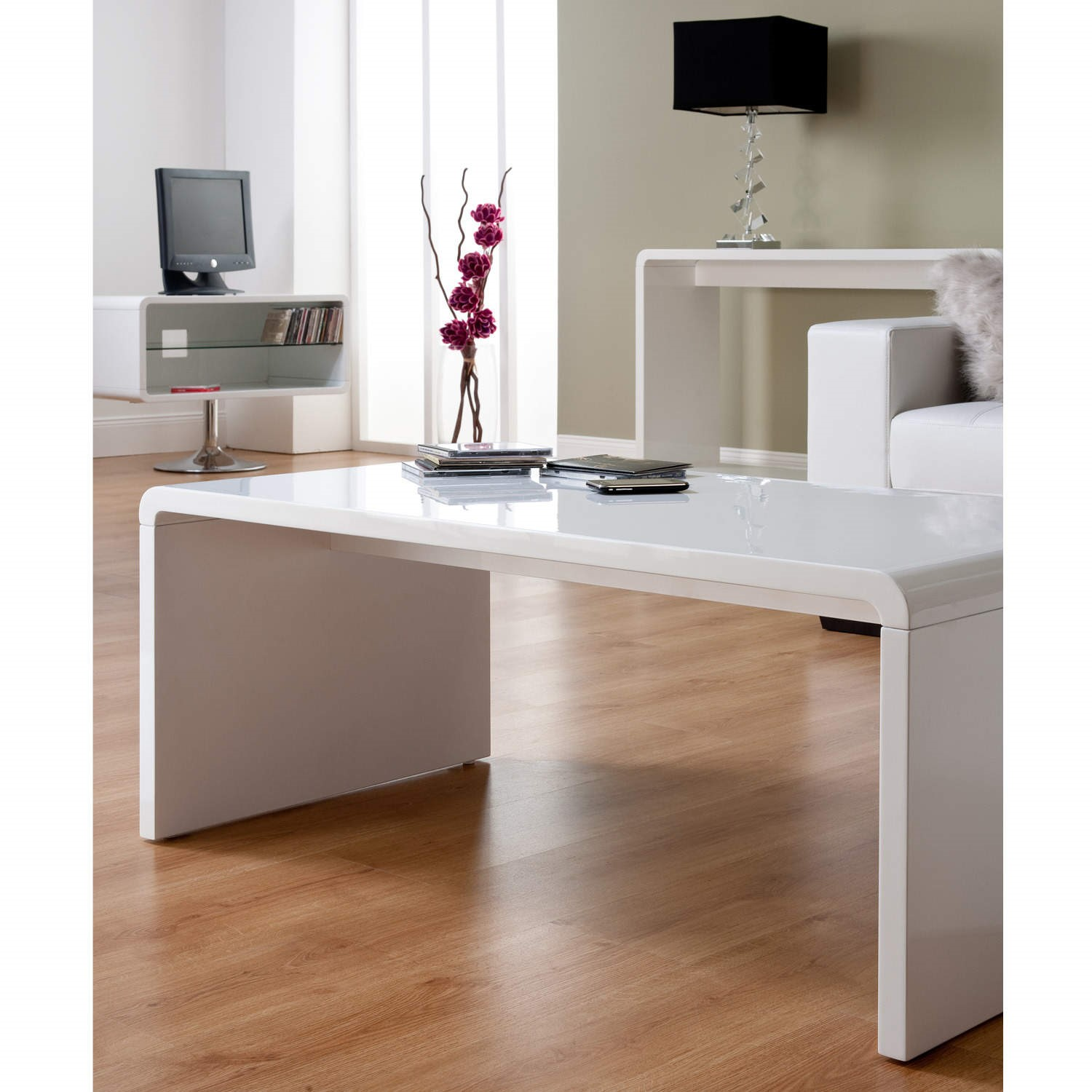 World Furniture Toscana Coffee Table In White High Gloss
