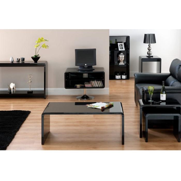 Toscana Gloss Coffee Table: World Furniture Toscana Coffee Table In High Gloss Black