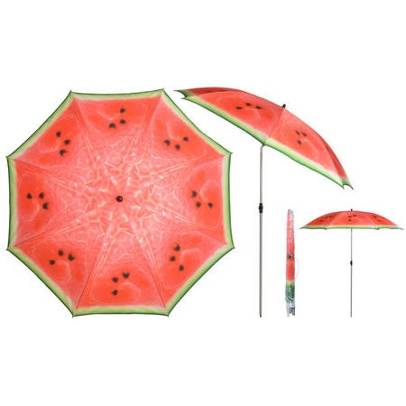 Ourdoor Parasol with Watermelon Design