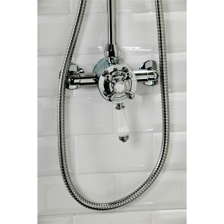 Traditional Exposed Thermostatic Shower Valve