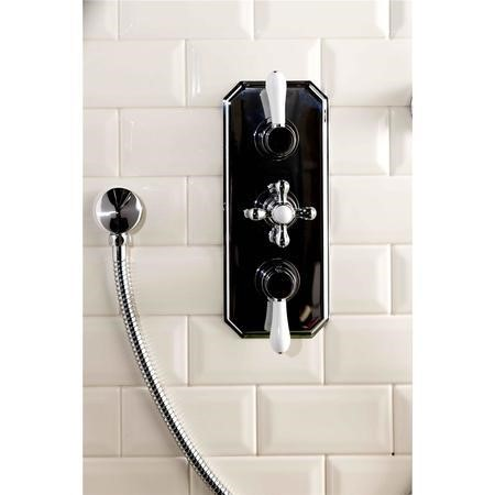 Traditional Triple Concealed Shower Valve