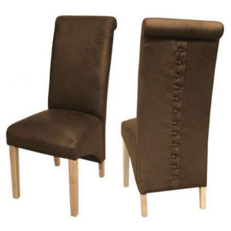 LPD Limited Treviso Chairs Pair In Brown