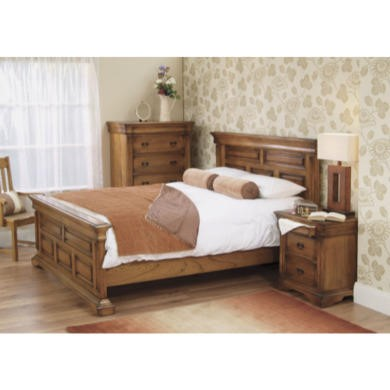 Wilkinson Furniture Remus Double Bed Frame in Oak