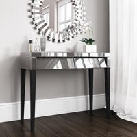 Valentina Grey Mirrored Dressing Table