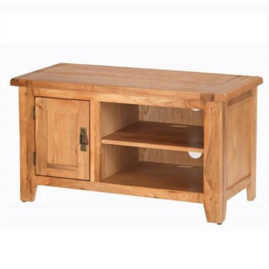 Heritage Furniture Cherbourg Rustic Oak TV Video Cabinet