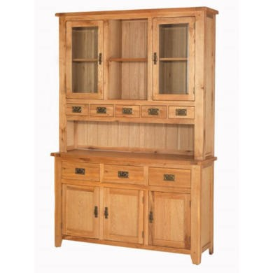 Heritage Furniture Cherbourg Rustic Oak Larger Dresser