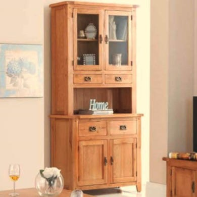 Heritage Furniture Cherbourg Rustic Oak Small Dresser