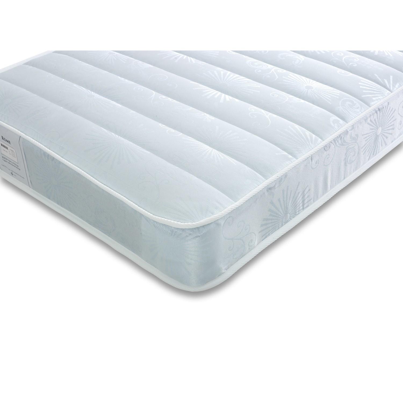 Venice premier quilted coil sprung single mattress - medium firmness