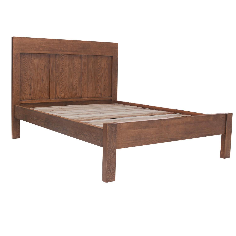 Vineyard Dark Oak King Size Bed Frame Furniture123