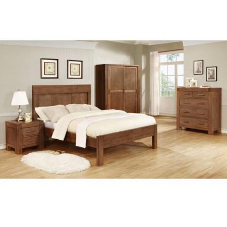 Vineyard Dark Oak 4 Piece Bedroom Set Furniture123