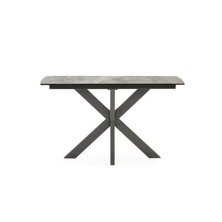 Grey Marble Console Table - Valerius