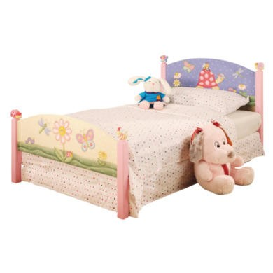 Ladybird Butterfly Toddler Bed