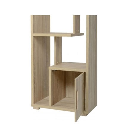 Seconique Cambourne Oak Effect 1 Door Display Unit