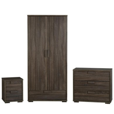 Seconique Cambourne Bedroom Set in Dark Oak Effect