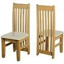 WHCH373DWPCR Seconique Pair of Tortilla Cream Dining Chairs
